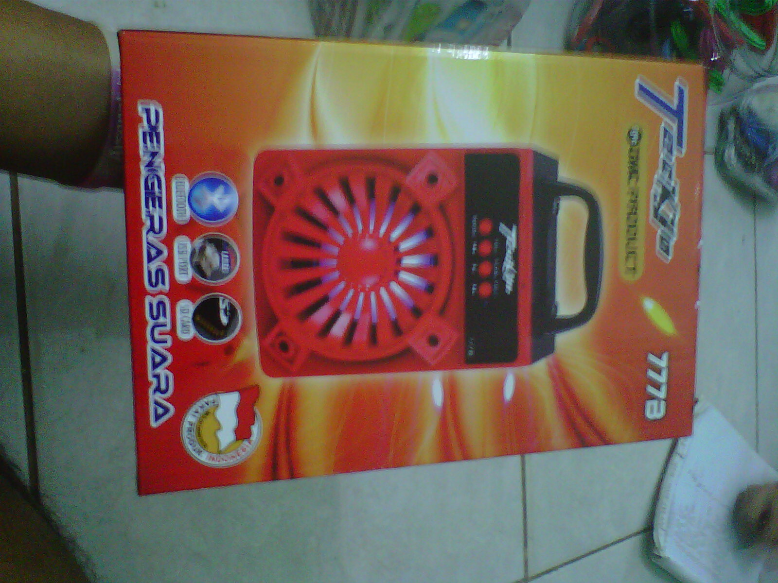 Jual Speaker Teckyo Gmc Bluetooth 777B Speaker Usb Bluetooth Stereo Bass KONGHAI ACC .