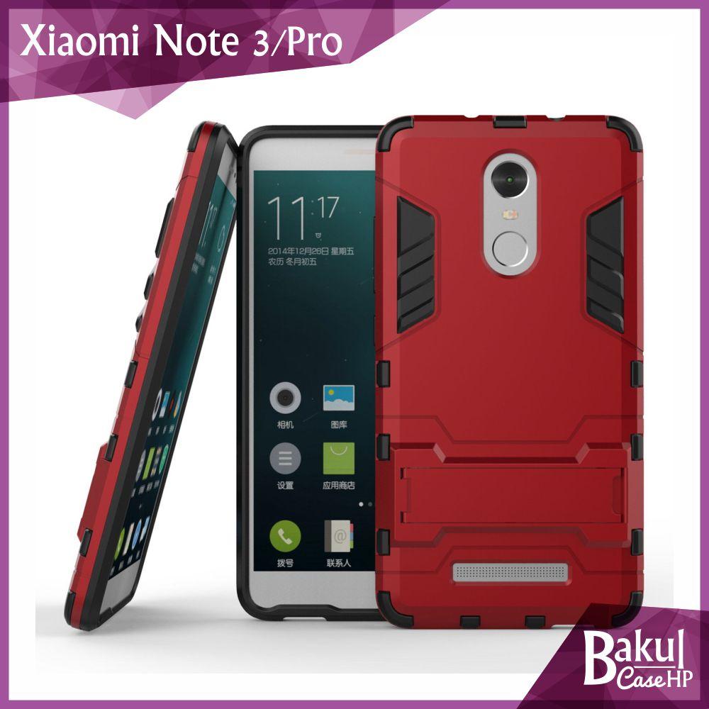 Jual Shockproof Armor Casing Hard Soft Case Xiaomi Redmi Note 3 Obral Oem Spigen Transformers Iron