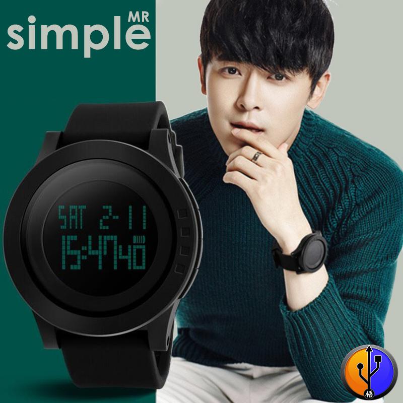 Jual Water Resistant 50M LED | Jam Tangan Original SKMEI Casio Digital Pria - Click & Deal | Tokopedia