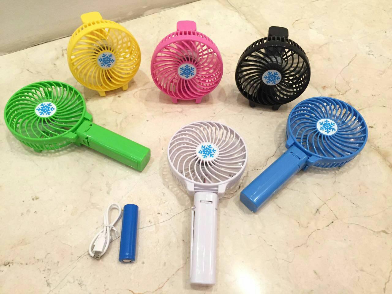 Jual Kipas Angin Mini Dengan Gagang Chargeable Taro Store Tokopedia Fan Portable