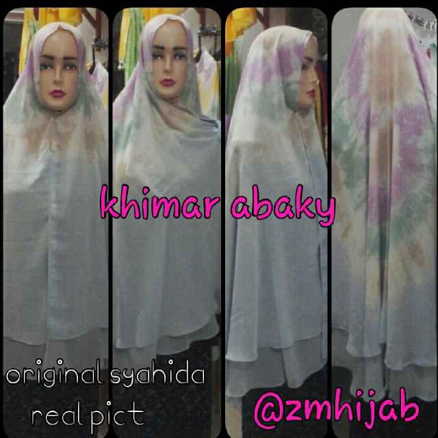 khimar abaky original syahida hijab