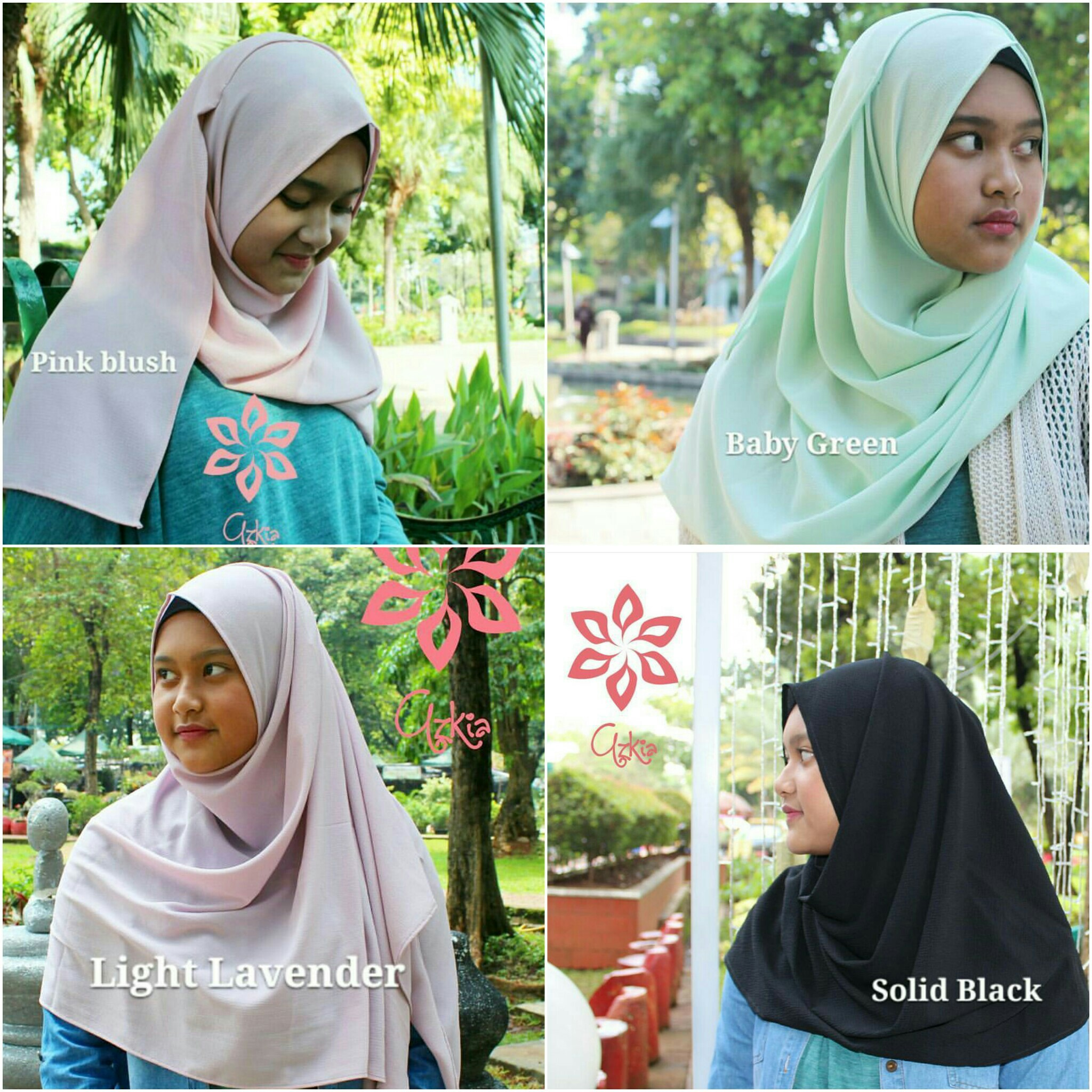 Jilbab Instan / Hijab Instan / Pashmina Instan Azkia