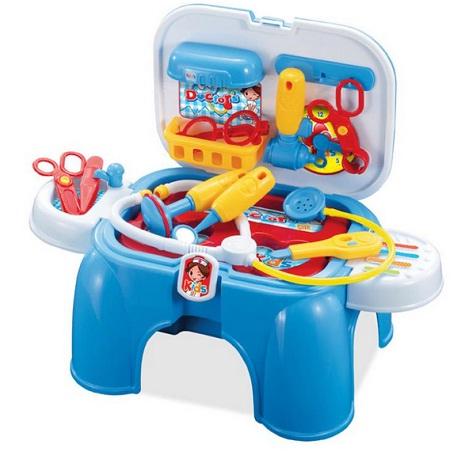 Jual Mainan Edukasi Anak Mainan dokter - dokteran + Bisa Jadi Tempat Duduk  - oke- b8c8a96594