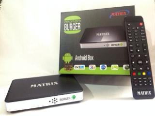 RECEIVER MATRIX BURGER ANDROID BOX