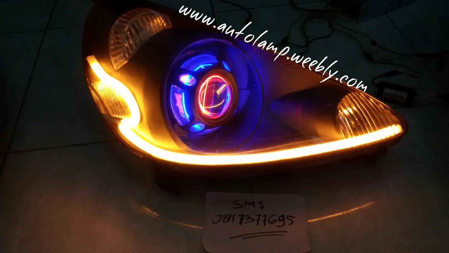 headlamp custom jazz gd3