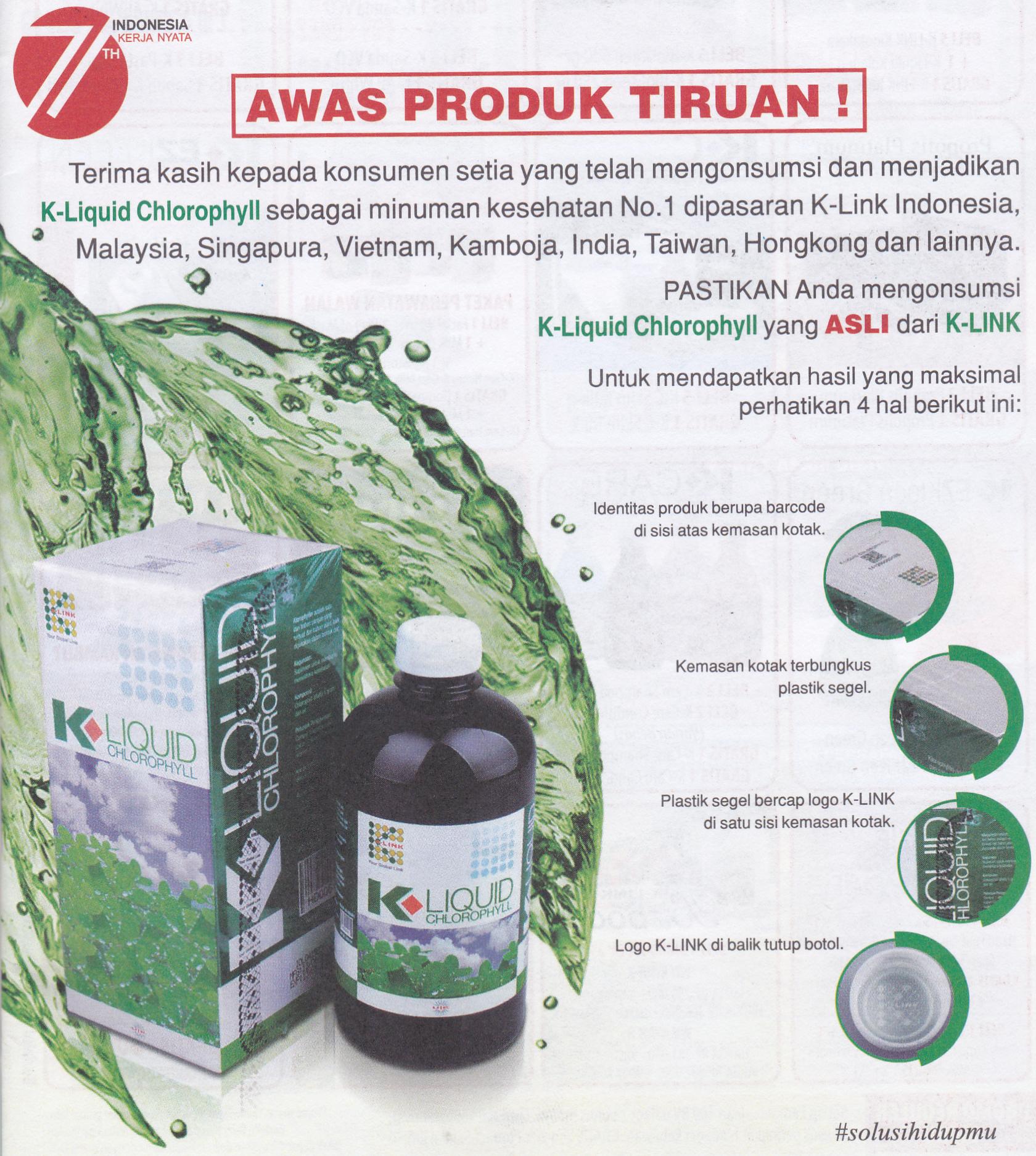 Jual K Liquid Chlorophyll Nutrisi Sayuran Berkualitas Tinggi Deva Shop Tokopedia