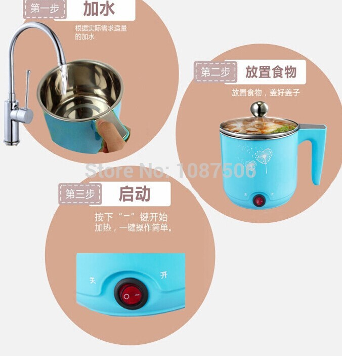 Mini Rice Cooker Kapasitas 1,2 L