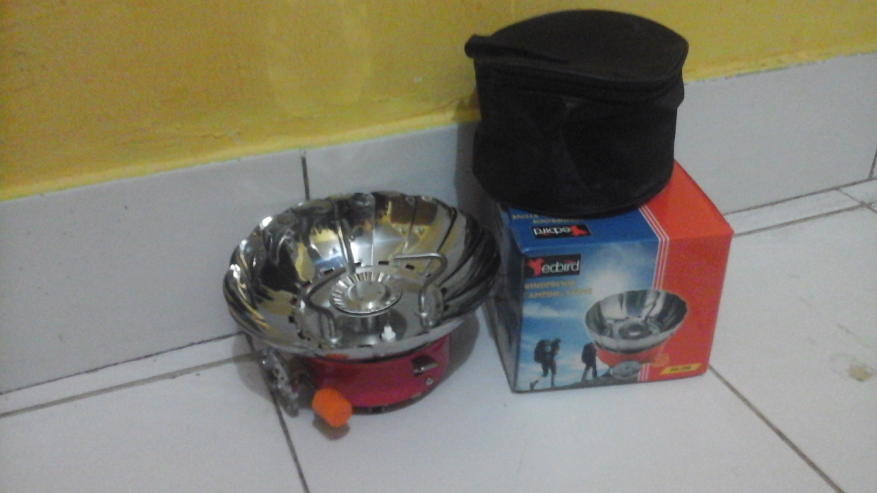 Kompor Mini Camping Daftar Update Harga Terbaru Indonesia Windprof Kovar Portable Gas Kaleng Yogyakarta Kota Source Jual Master Piece Tokopedia