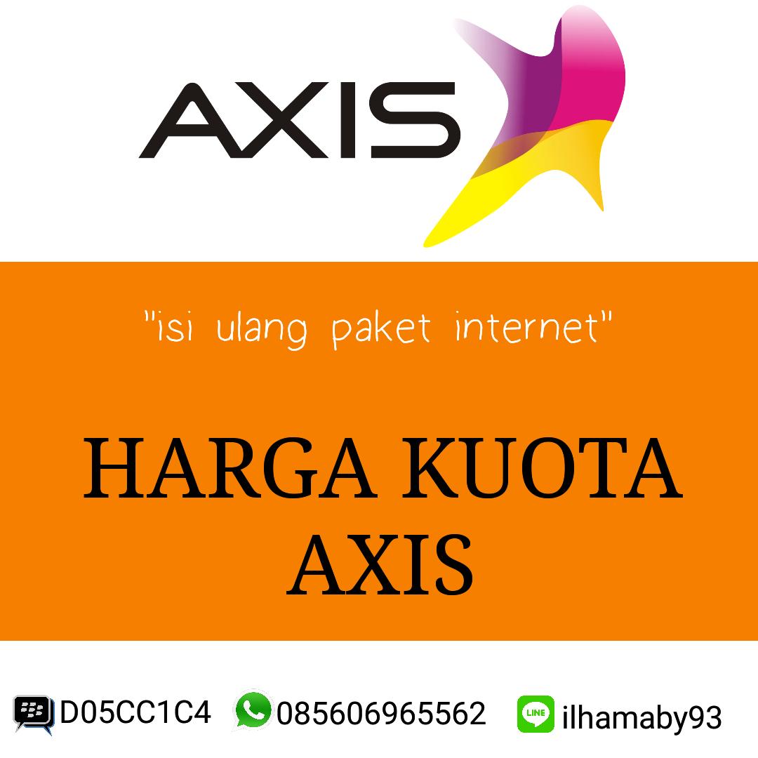 Jual Isi Ulang Paket Data Axis Bos Kuota Tokopedia
