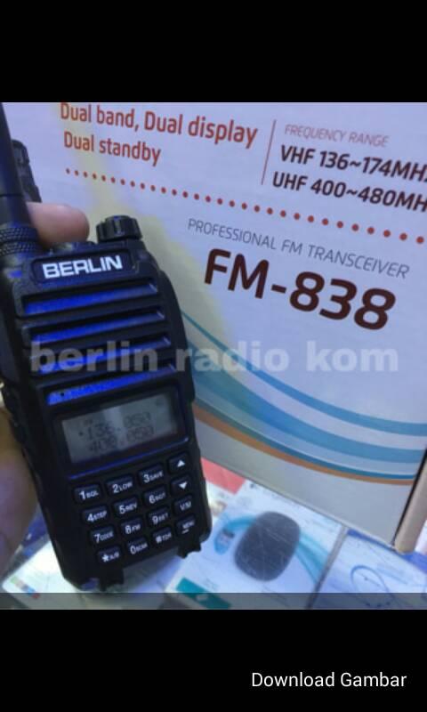 Murah!!!! HT BERLIN FM-838 DUAL BAND