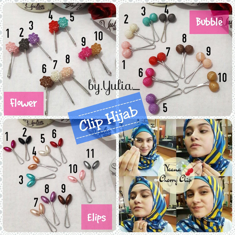 Clip Hijab / Klip Hijab Murah