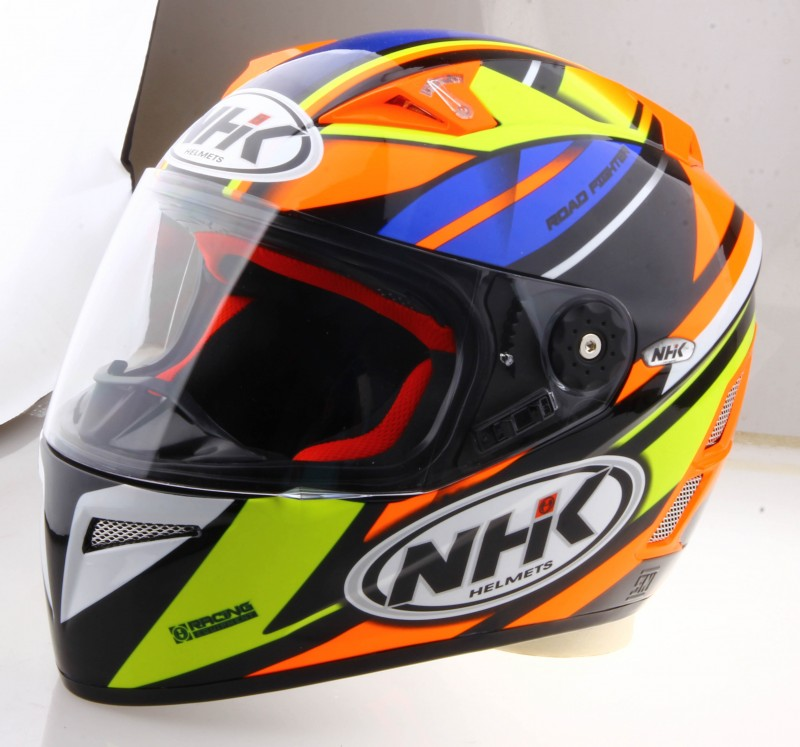 Jual Helm NHK GP Pro GPPro Fullface Terminator Orange Yellow