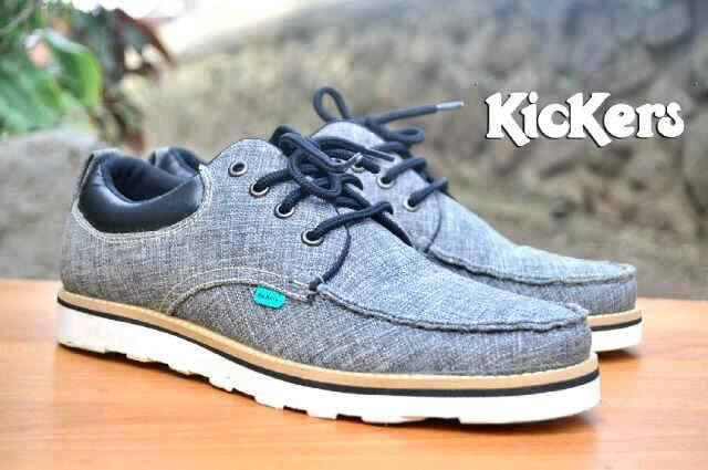 sepatu kickers tesko prodati grey