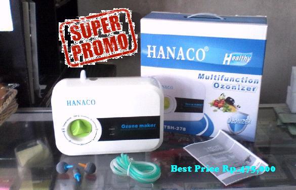 Ozone Generator Hanaco Multifunction ( Penghilang Bau )