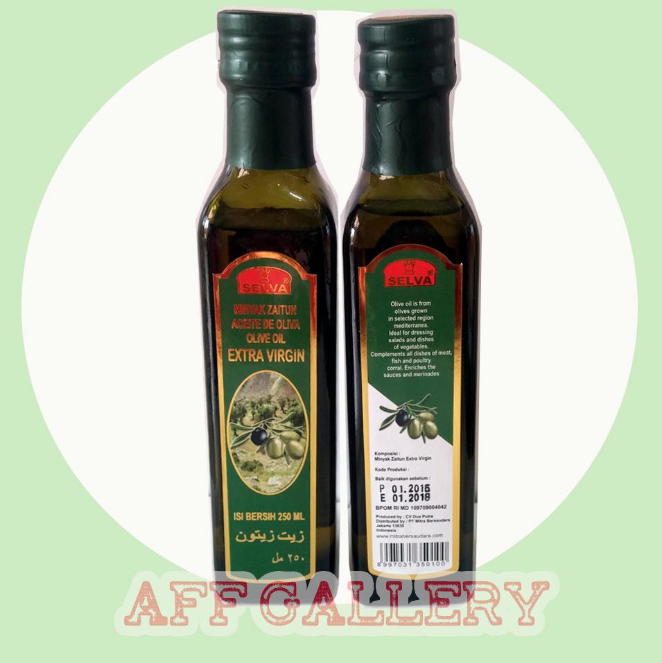 Jual Minyak Zaitun Selva/Ekstrak Virgin Olive Oil