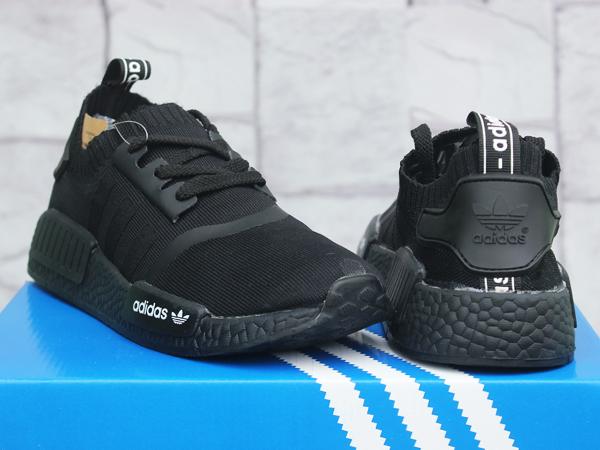 ... good jual sepatu runningfitnestolahraga adidas nmd runner full black  daffa sports tokopedia 376aa 37167 ... 92ef427670