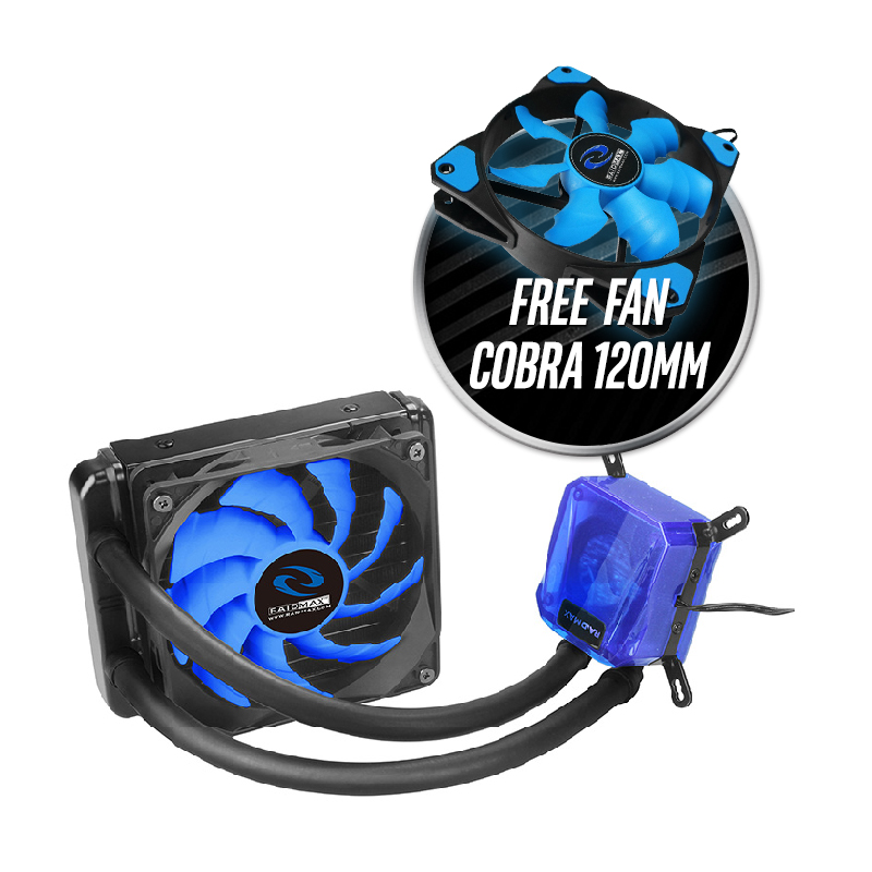 Raidmax Cobra 120 (CPU Fan / Liquid Cooler)