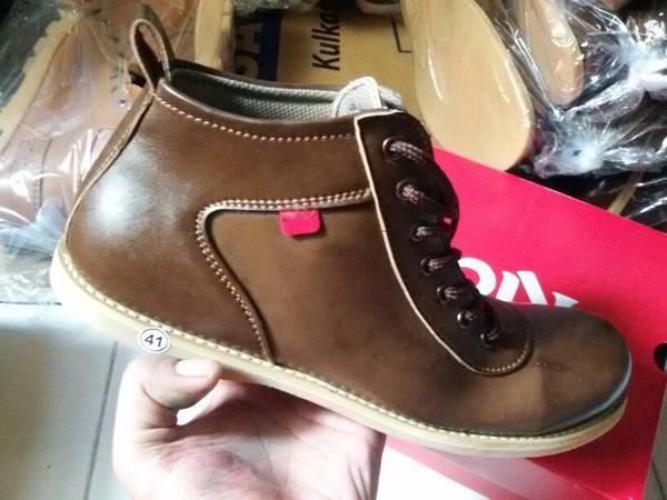 Jual Sepatu Casual Pria Kickers Orlando Grade Original (BROW ... b9633d26b5