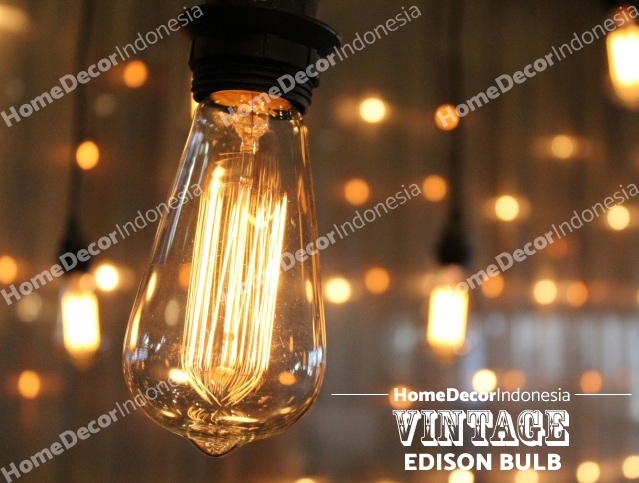 Jual String Lights : Jual Bohlam Lampu Edison Bulb Pijar Filamen Retro Vintage Teardrop Straight - Home Decor ...