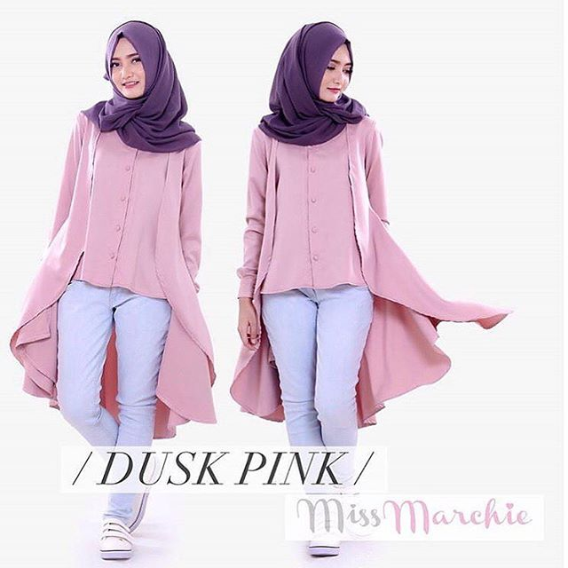 Baju Hijab Murah Marchie Tunik