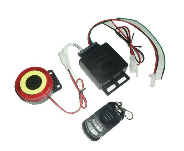 Alarm Motor Sensor Sentuh