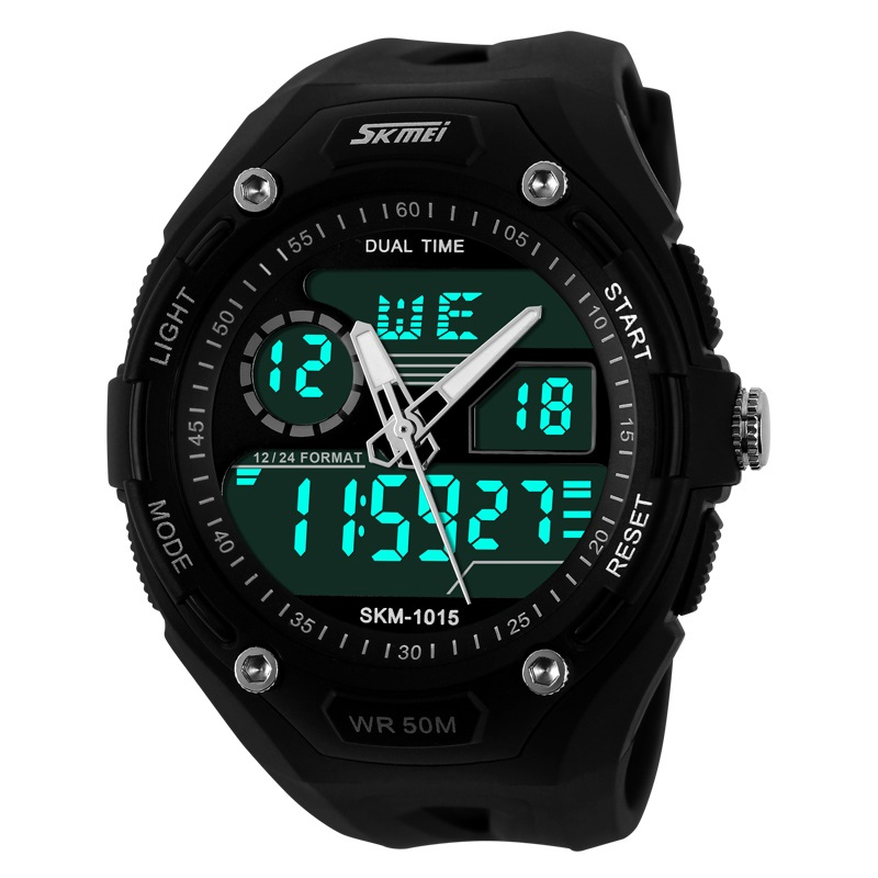 Jam Tangan Pria Original SKMEI S-Shock Sport Watch Waterproof