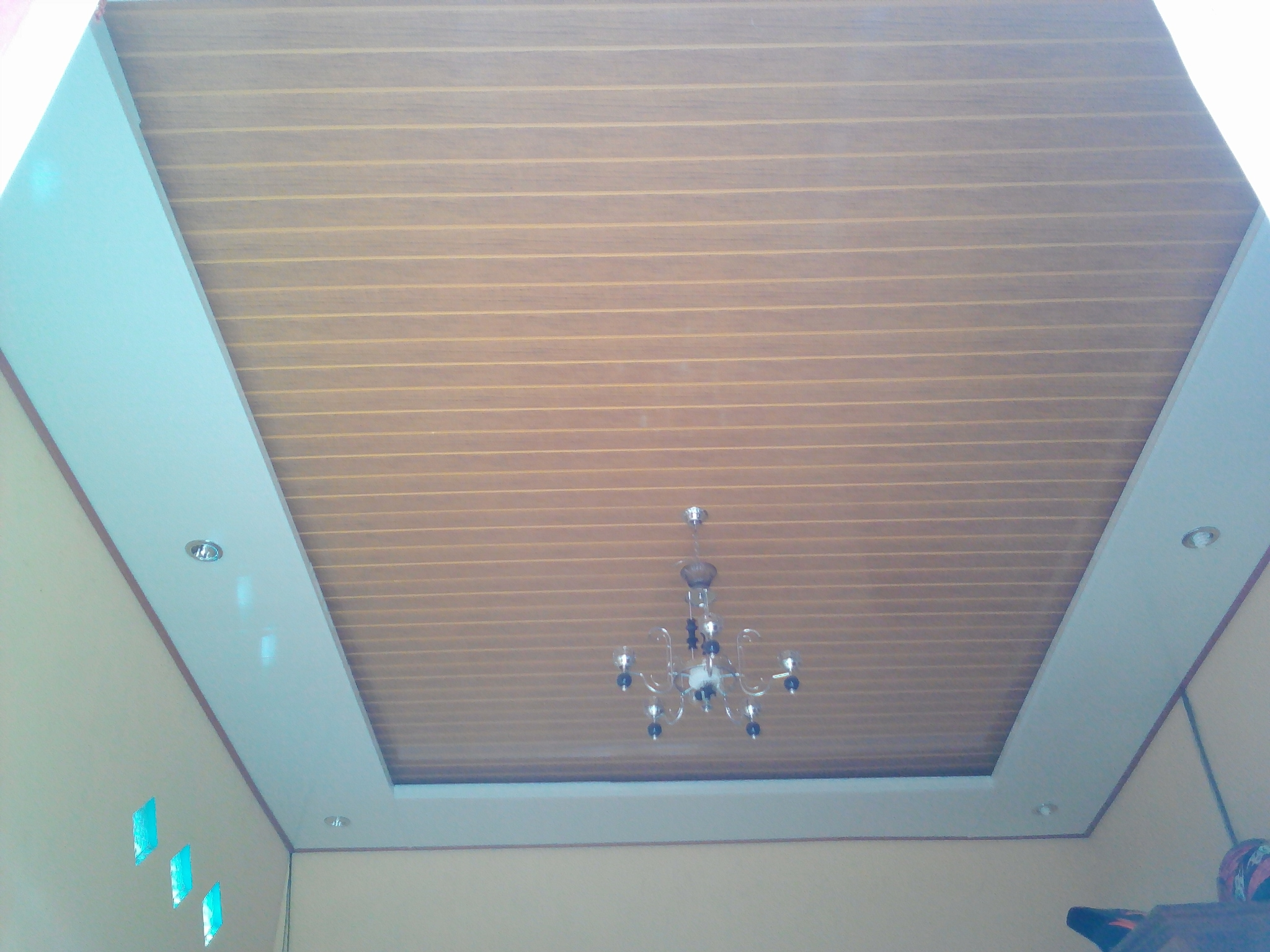 Jual plafond pvc embun embun plafon pvc tokopedia for Plaque plafond salle de bain