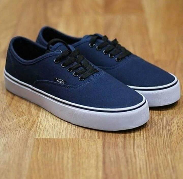 Jual SEPATU VANS AUTHENTIC NAVY BLACK - Supplier Sepatu Sneakers ... 7f96eb870e