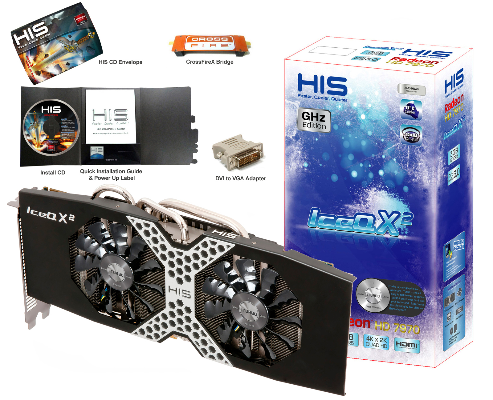 HIS 7970 IceQ X GHz Edition 3GB GDDR5