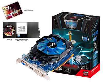 R7 Radeon 250X ICooler 1GB GDDR5