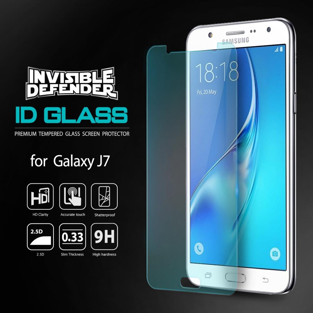 Ringke ID GLASS Tempered Samsung Galaxy J7 2016 Anti Gores Kaca Screen