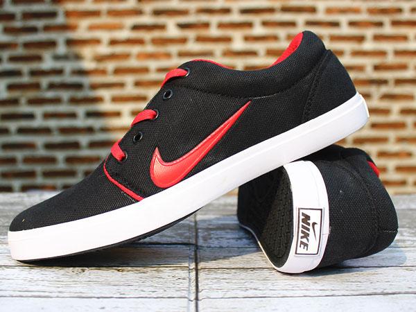 Jual Nike Roshe One Hitam Strip Merah(TERBARU 2016 52ec4e6813