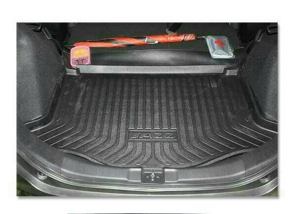 trunk tray grand jazz/karpet bagasi jazz
