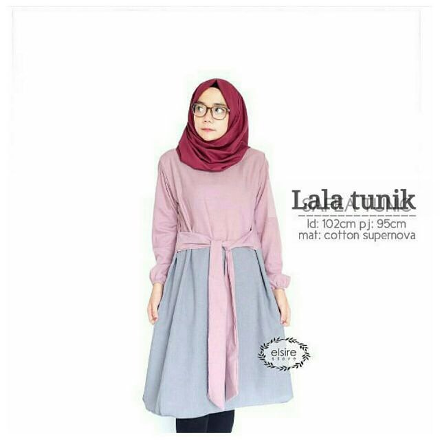 Baju Hijab Murah Lala Tunik