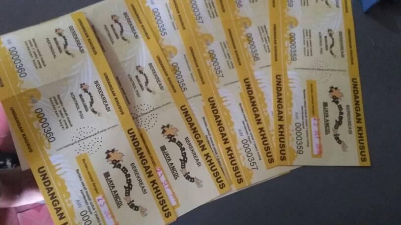 Harga tiket ancol Rp. 25.000 disc menjadi Rp. 15.000