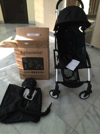 Stroller Kiddopotamus Black