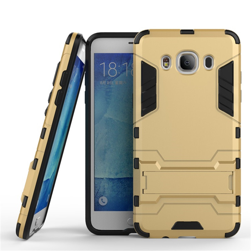 Samsung Galaxy J7 2016 Anti Knock Slim Hybrid Rugged Armor Case