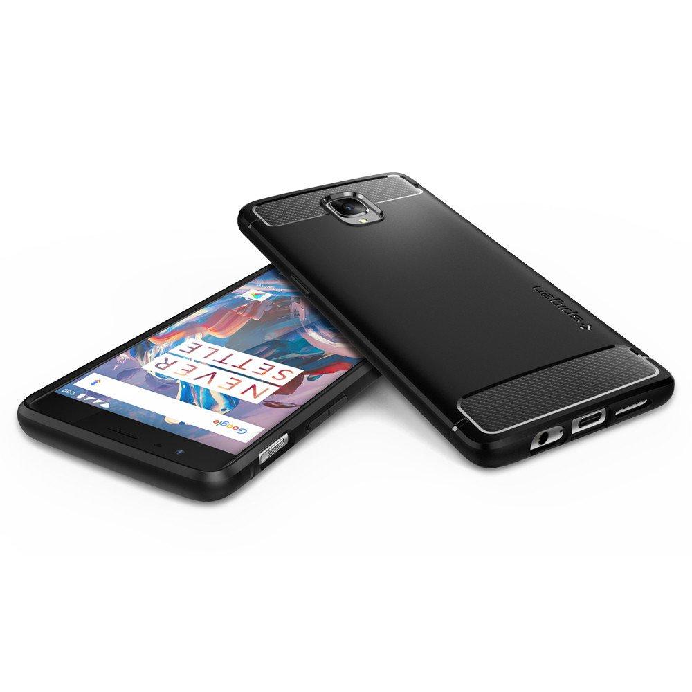 Spigen OnePlus 3 Case Rugged Armor - Black
