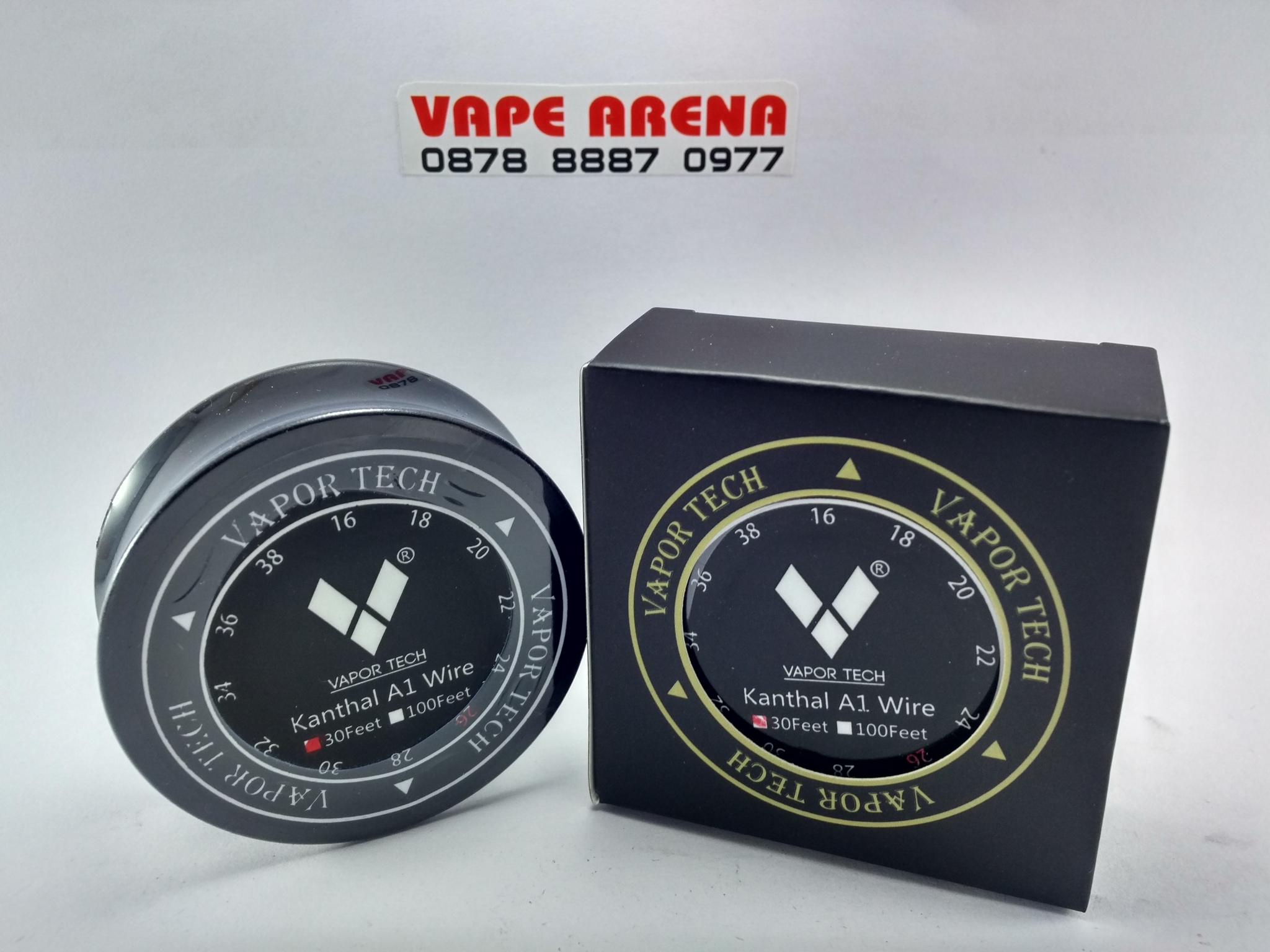 Kawat Wire Vapor Premium Nichrome 22 24 26 28 By Ud 100percent Geekvape Awg Geek Vape  Grosir Jual Kanthal A1 30feet Tech Authentic