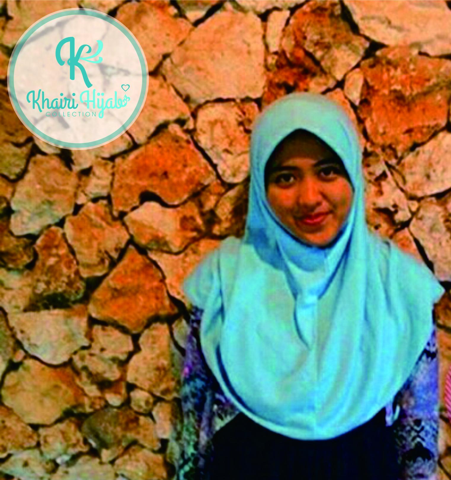 Jual Jilbab Polos Hijab Kaos Jilbab adem Jilbab Sekolah Size XXL Khairi Hijab