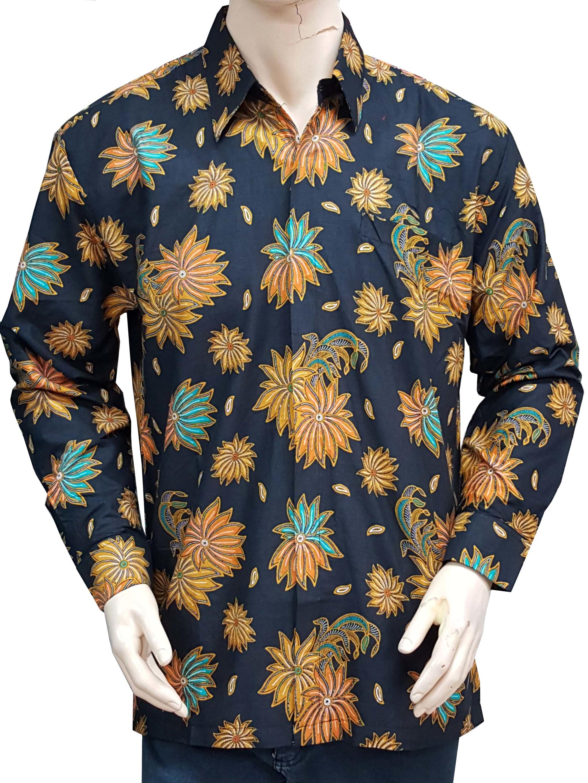 Jual Kemeja Baju Batik Ahok Katun Full Furing Exclusive Murah
