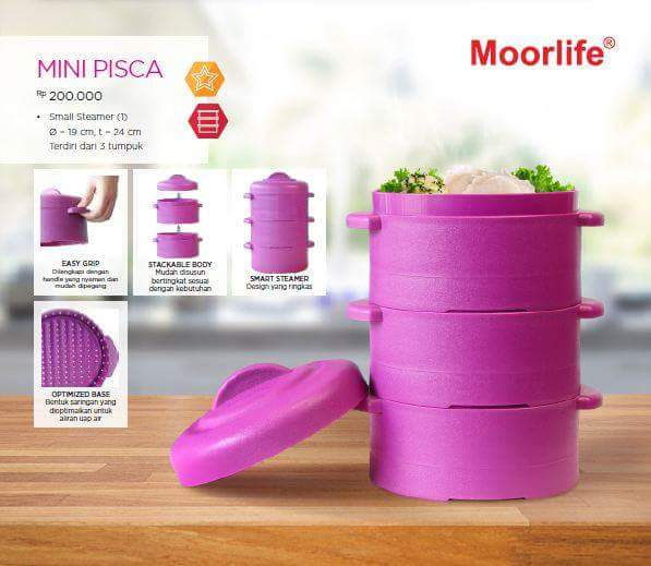 PROMO SEPTEMBER MINI PISCA / STEAMER / NON TUPPERWARE