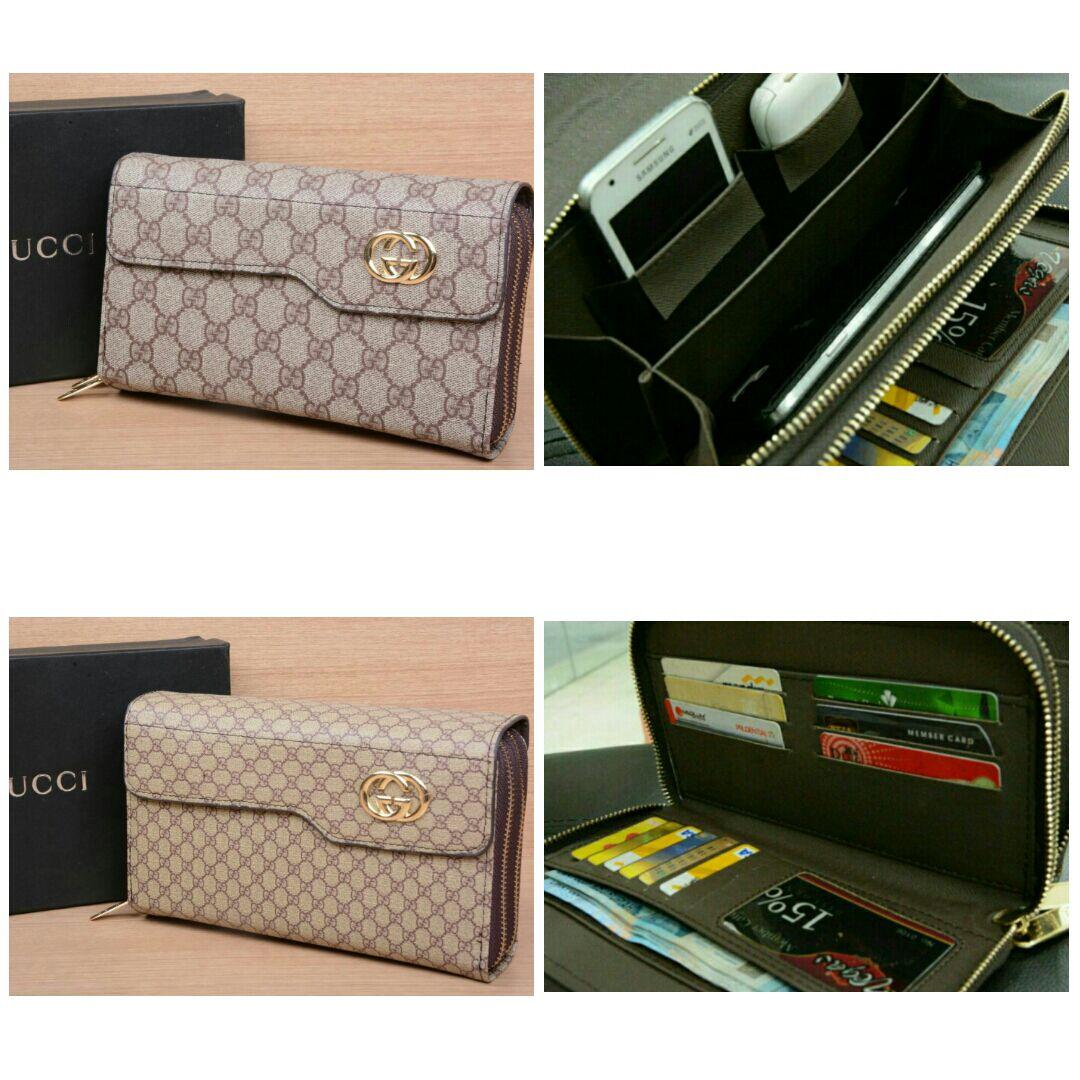 Jual HPO Gucci 2resleting 391-1  - Sharon Flanel Batam  32d79b1237