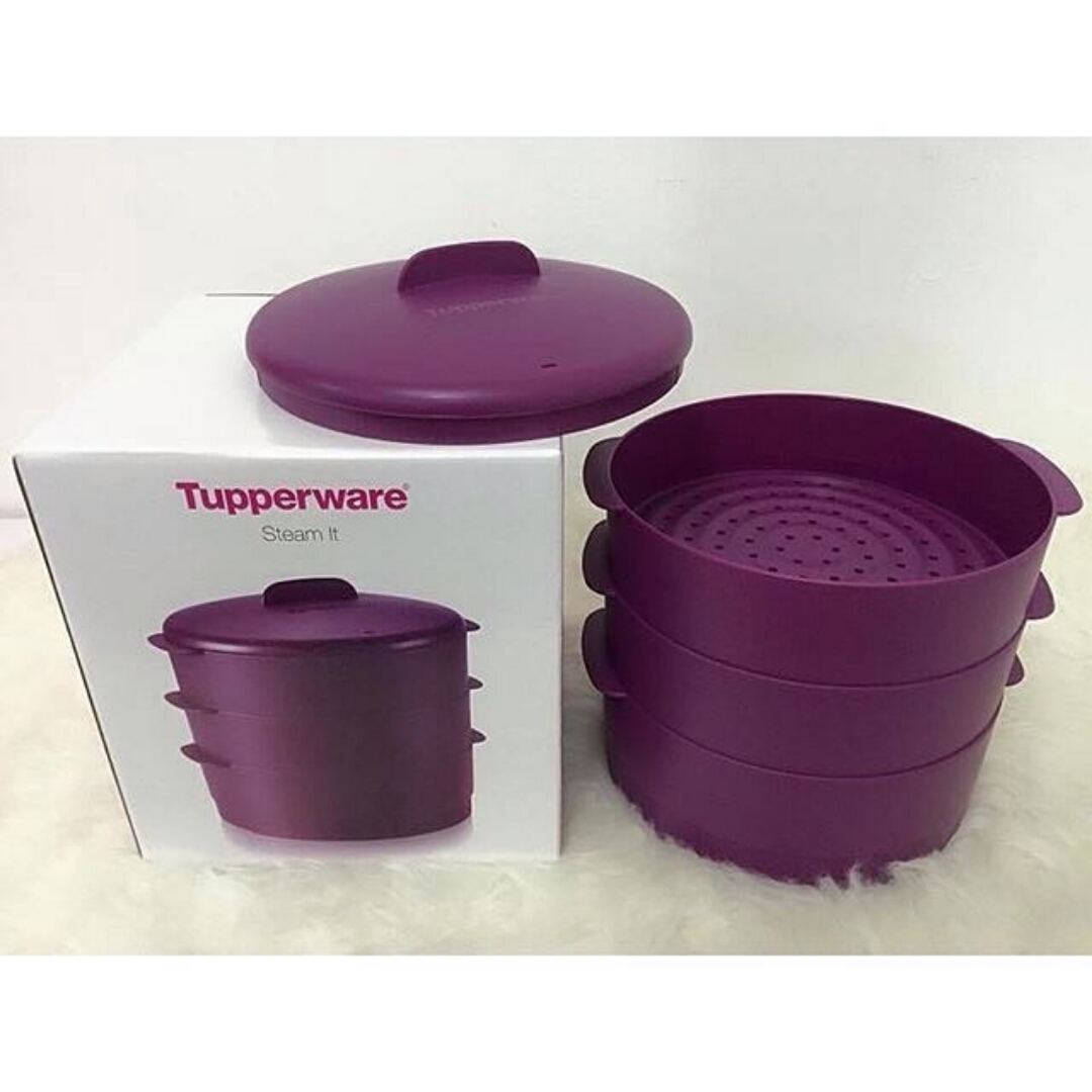 Tupperware Steam It Purple (3)