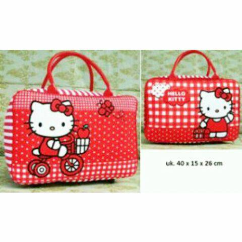 Travelbagmurah Travel Set Kanvas Hellokity Pita Daftar Update Source · Travel Bag Kanvas Hello Kitty Pita