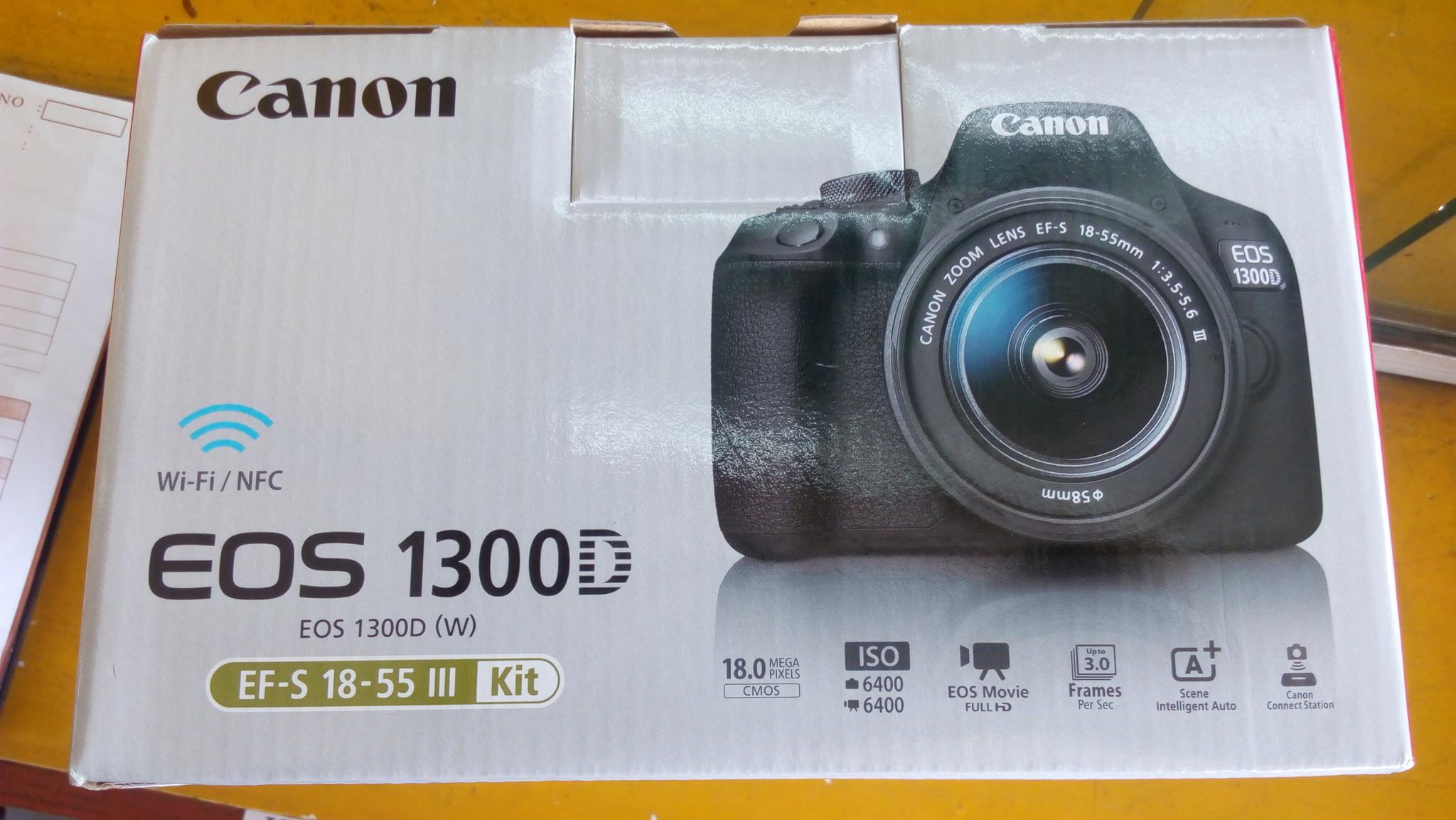 Jual Canon 1300d With Wifi Harga Only Rp 5 350 000 Kab Bengkalis