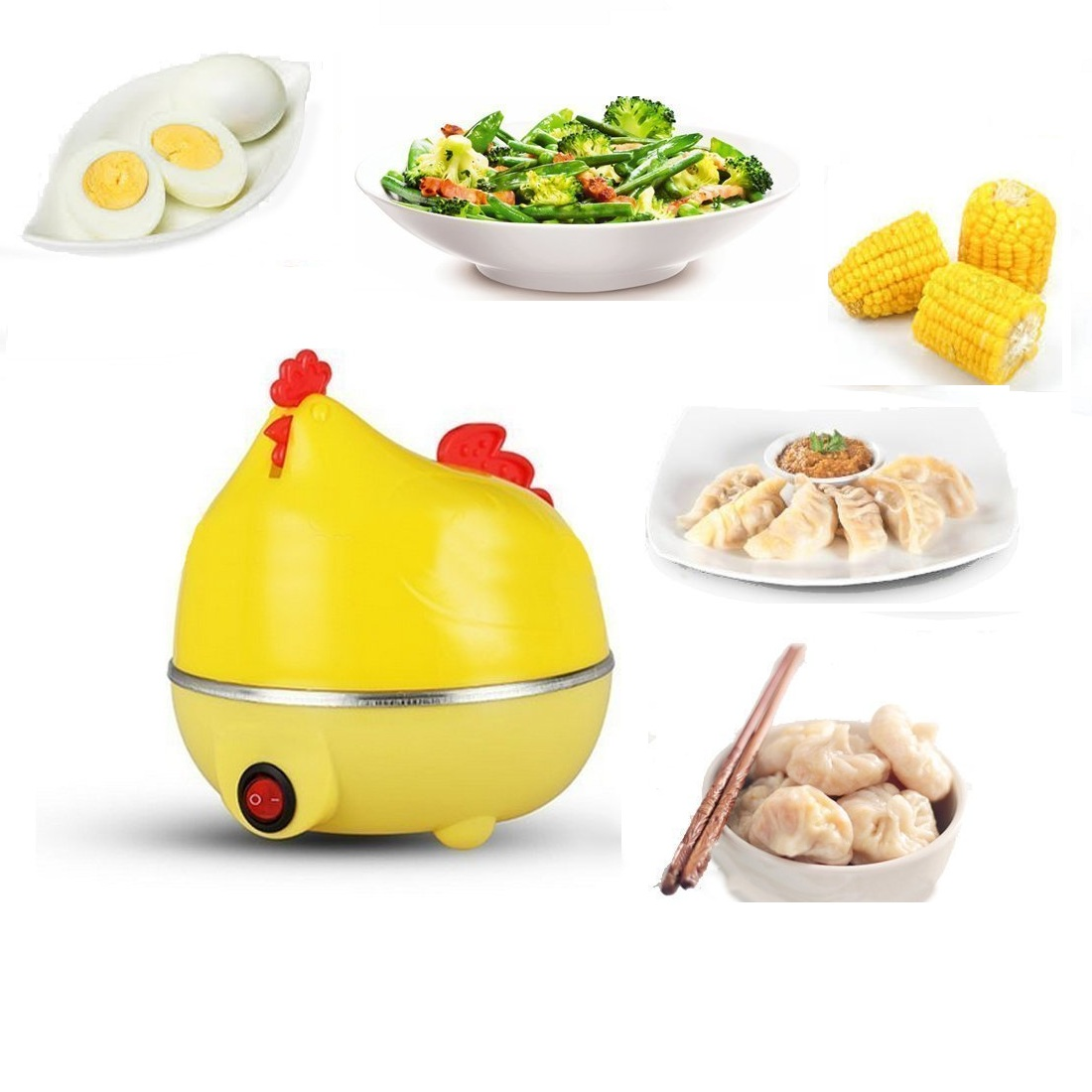 Multifunctional Egg Boiled - Mesin Rebus Telur