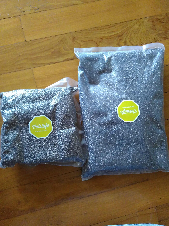 black chia seeds net carbs