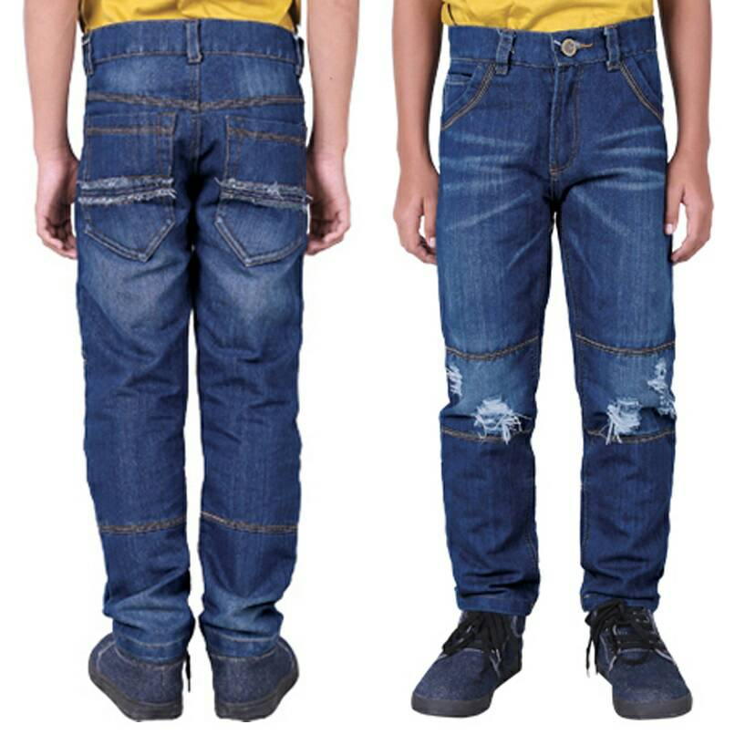 Celana Jeans Anak Laki-laki Original Catenzo Junior CMT 127