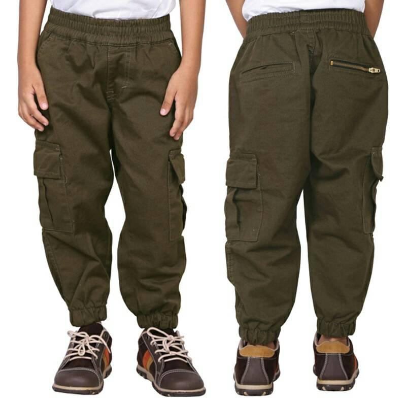 Celana Panjang Anak Laki-laki Original Catenzo Junior CYP 154